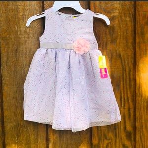 Purple Tulle Toddler Dress